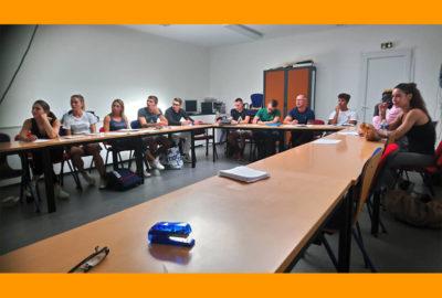 Salle de cours BPJEPS Activités de la forme - Bordeaux métropole